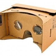 Magic Cardboard VR Brille Heckansicht