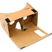 Die Magic Cardboard VR Brille wird einfach zusammengefaltet.
