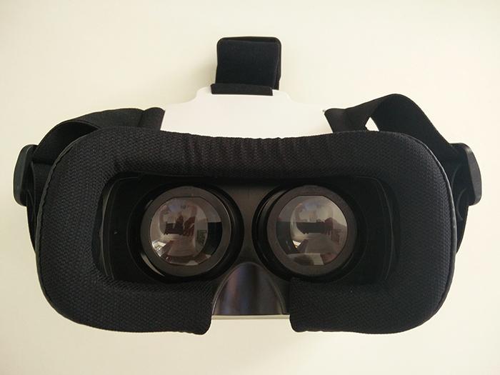 SIMBR 3D VR Headset von oben