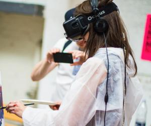VR Brille Steuerung
