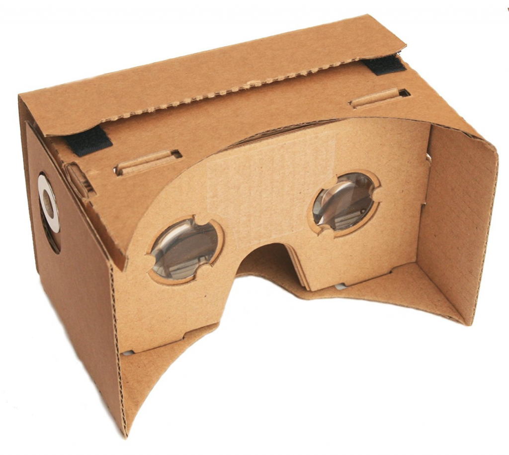 iPhone VR-google cardboard