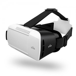 Dank dem Kopfband beim SIMBR 3D VR Headset kannst du Spiele und Videos nur mit den Bewegungen deines Kopfes steuern.